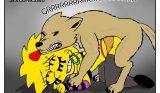 Lisa Simpson Follada por un Perro callejero