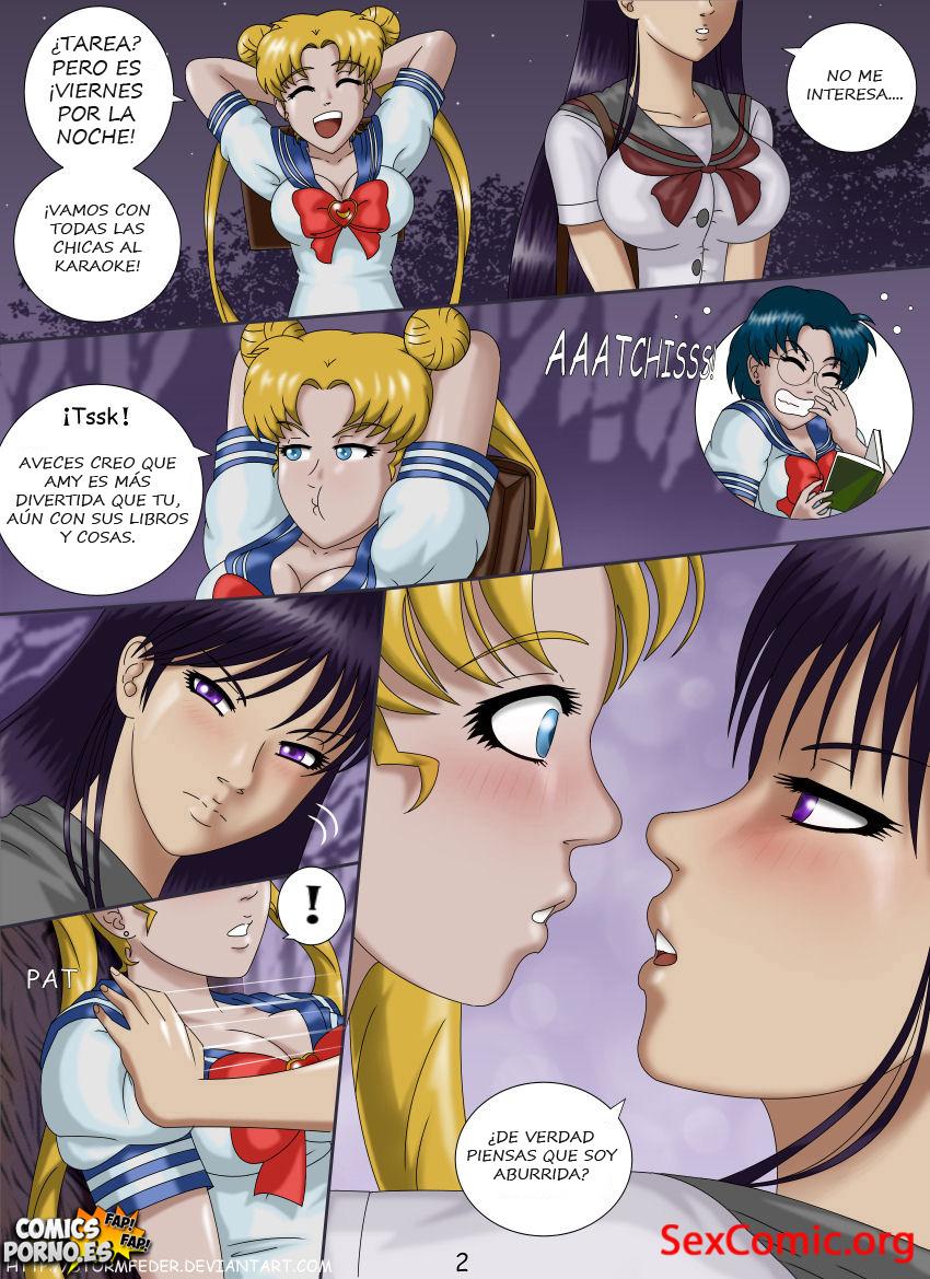Historieta XXX de Sailor Moon HD - videos porno - hentai - manga xxx- historia adultos - dibujos porno (2)
