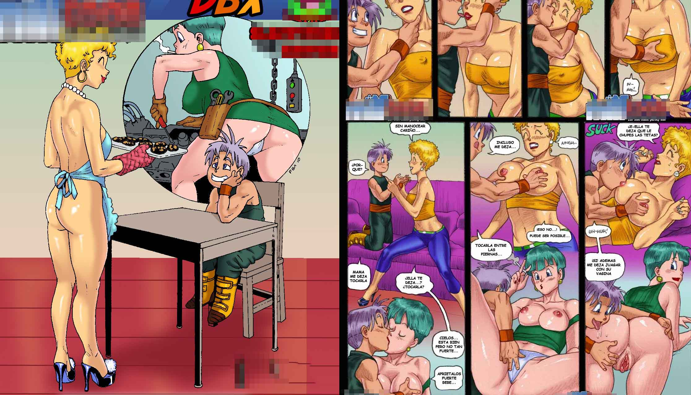Doesn't porn dragon ball z bulma comic fuck this