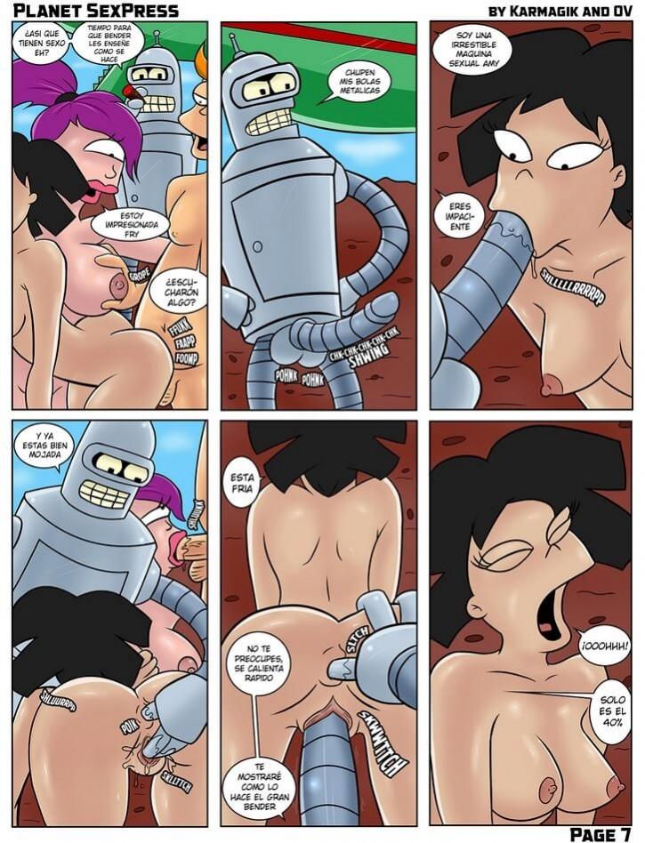 Futurama xxx Planet Sexpress Comic Porno -futurama-version-porno-folladas-planeta-monstruos-follando-beder-fornicando-sexo-extremo-anal (8)