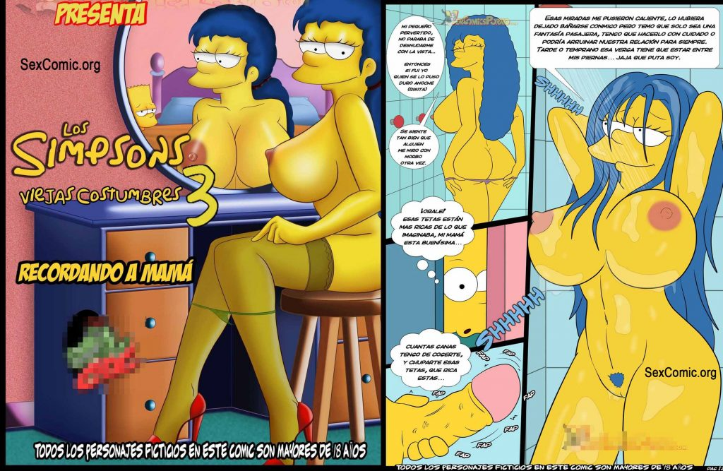 Bart Simpson Gay Sex Análny sex porno galérie
