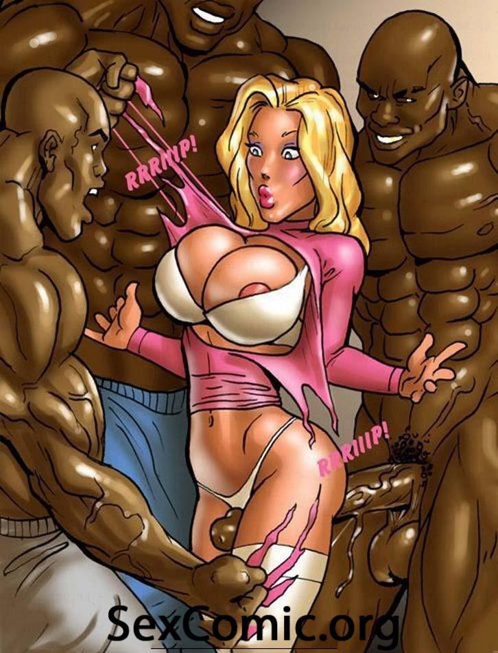 Negros Forzando una Puta xxx -videos xxx- manga  xxx - dibujos porno - historias porno - historietas xxx gratis - hentai en español (23)