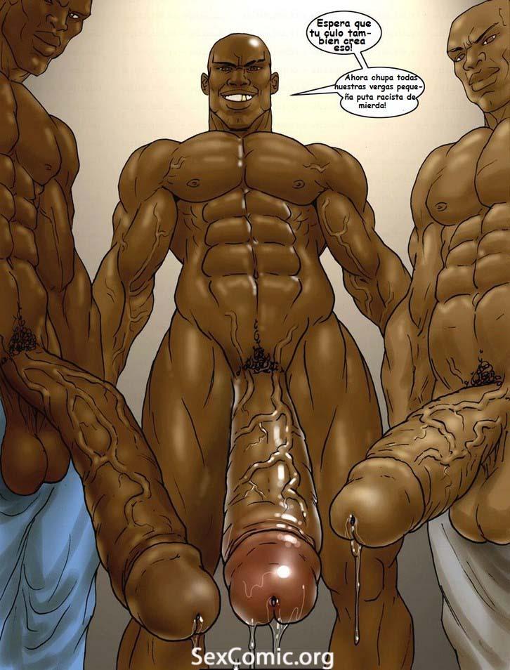 Negros Forzando una Puta xxx -videos xxx- manga xxx - dibujos porno - historias porno - historietas xxx gratis - hentai en español (29)