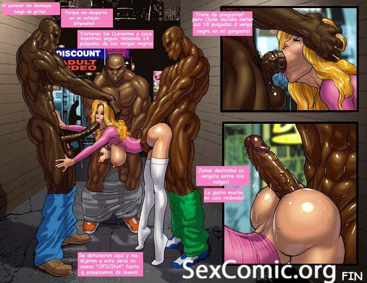 Negros Forzando una Puta xxx -videos xxx- manga xxx - dibujos porno - historias porno - historietas xxx gratis - hentai en español (40)