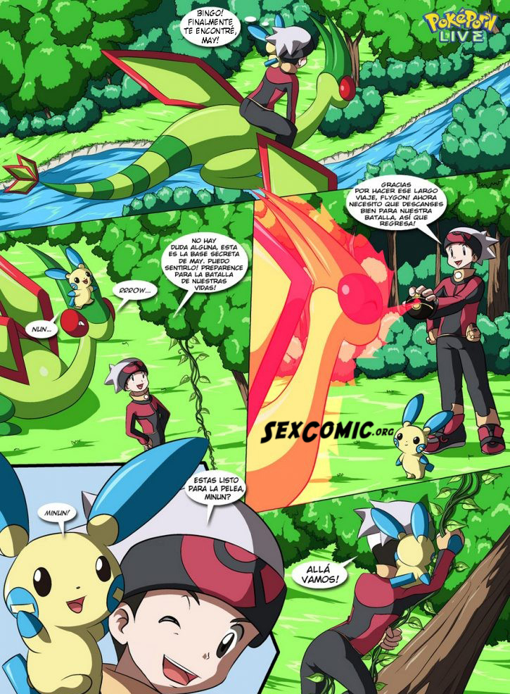 Comic Porno Pokemon Down Follando - SexComic org