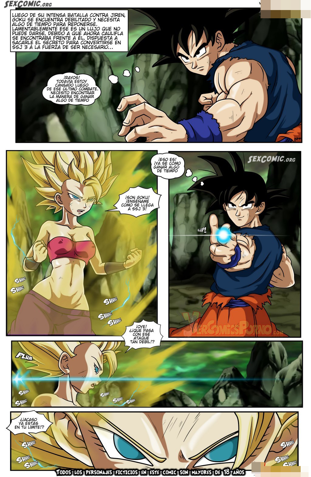 Comics de dragon ball super heentai