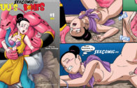 Dragon Ball xxx Majin Buu se folla a Milk bds