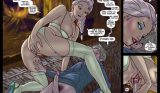 Elsa y Jack Frost Comic xxx