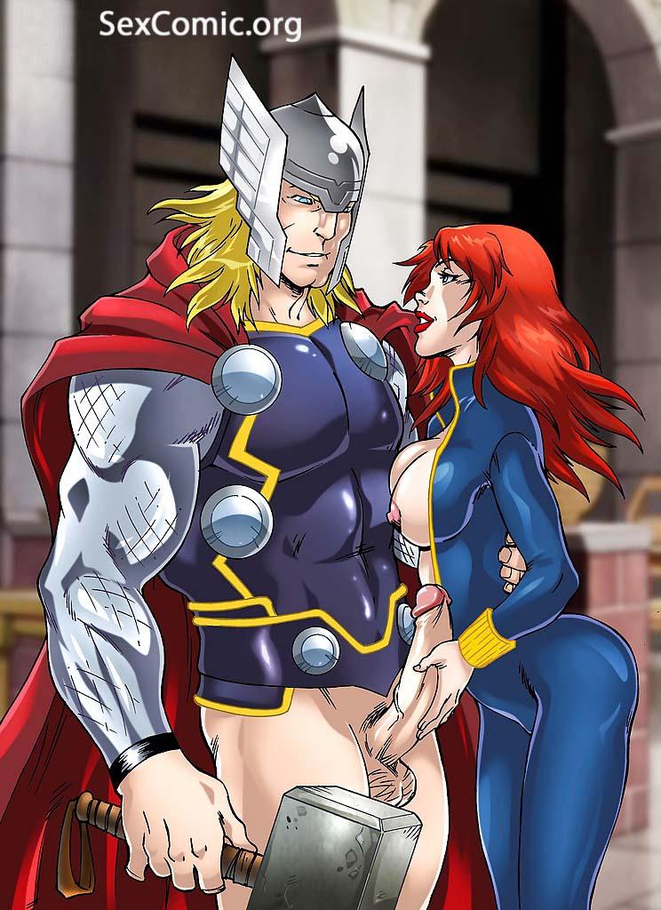 Marvel Comics porno