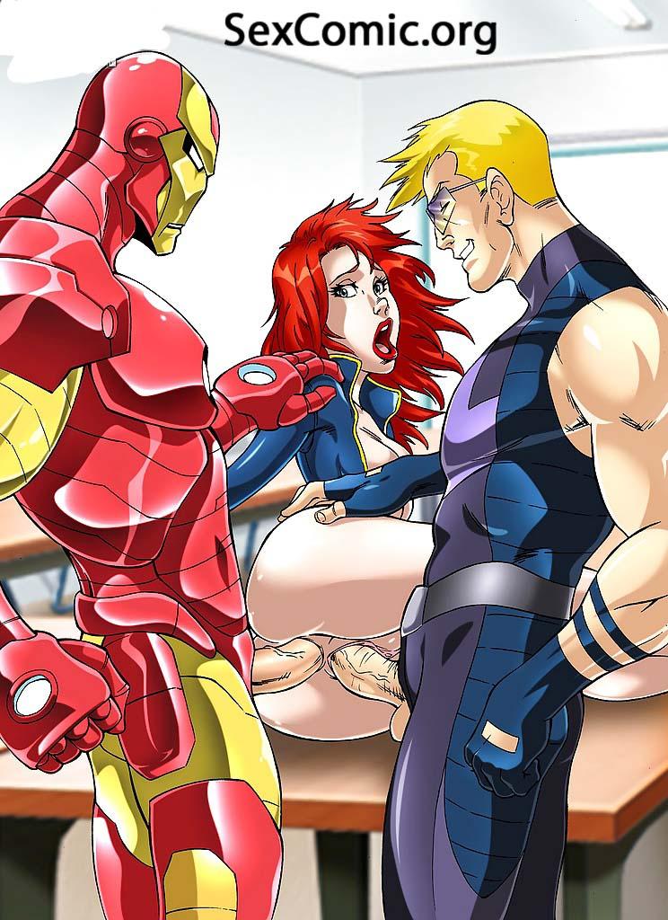 free marvel comics porn