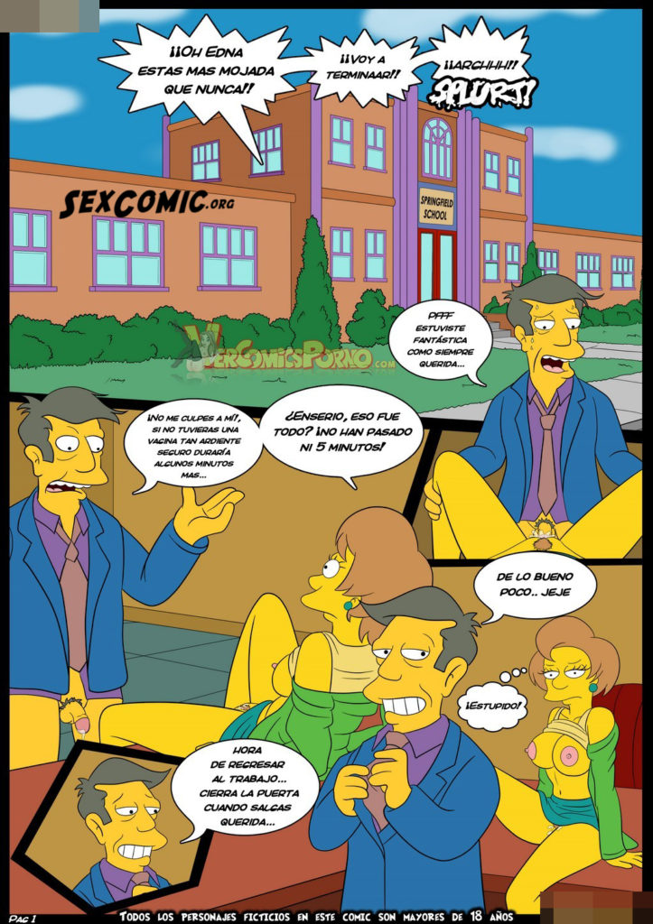 Simpsons porn bart