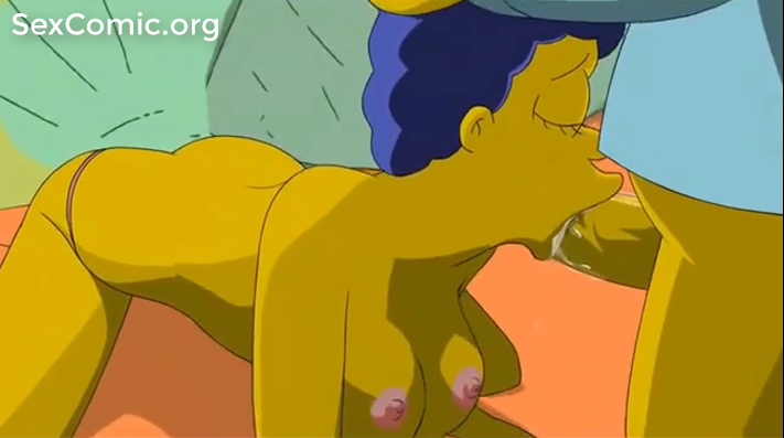 Los Simpsons xxx Homero penetrando a March desnuda videos hentai español