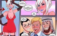 Marvel Porno Cosplay Sexo en la fiesta