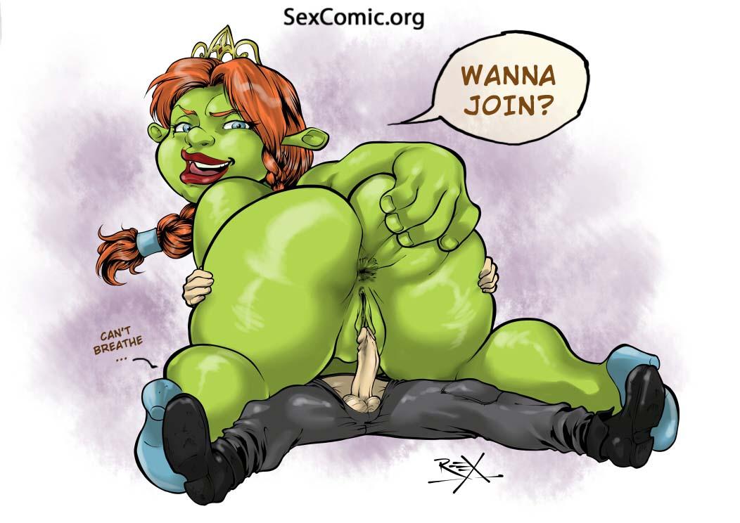 shrek porno tegneserie