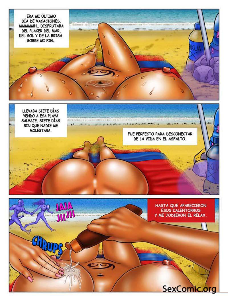 Cogiendo en la playa - 3 part 10