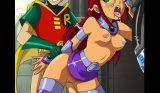 xxx Super heroes orgia